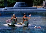 "Does anyone remember when they actually had ""live mermaids"" waving to the crowds at Disneyland?"
