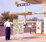 Gas station attendants! Remember them?