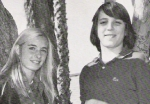 Voted Most Popular in 8th Grade: Debbie Beatty and Jeff Bitetti