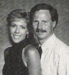 Beckie Acton ('78) and Kris Dunn ('77)