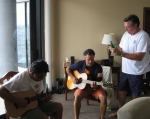 Jammin' with Bebop & Matthew Kawamura in Austin (submitted by P. Helfrich)