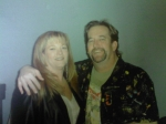 New Years Eve party....before New Years!...LOL!  Brenda Bailey Bradley with husband, Myles