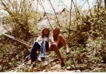 Kitty Stamper and Stacey Wooden 'hanging out' in Park City, Utah, in 1979.