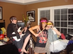 Cindy Bell's son Jake, neice Brittany Bell (Mike Bell's daughter) and daughter Cara are thinking of starting a band...