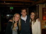 Karen Egan Davis sent in this photo:(L to R) Megan and Patrick Davis with Patrick's girlfriend Mallory