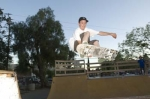 Jamey Gabriel (15)(son of Judy Ritch-Gabriel) skates for the Ojai sk8 Team which placed 2nd in So Cal for 08. Good healt