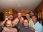 Bad Boys cruising the harbor on Friday night. Back Row: Don Barker, Jeff Bitetti, Dave Clark, Norm (Debbie Beatty's dat