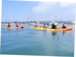 On Friday, Mike Hogan took classmates on one of his China Cove Kayak Adventures.  Everyone had a great time paddling pas