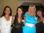 Brenda Smith, Melinda Myers, Jeannine Mansur, and Tami Briery